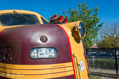 Nose (Henry's Railway Gallery) Tags: 4204 42class emd diesel clyde tuscan nswgr lvr lachlanvalleyrailway diesellocomotive heritagetrain passengertrain clarendonclassicmachineryrally richmond