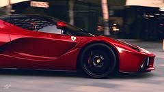 LaFerrari (Matze H.) Tags: ferrari laferrari gt sport gran turismo scapes wallpaper red italy hyper super car screenshot ingame filter 4k uhd hdr