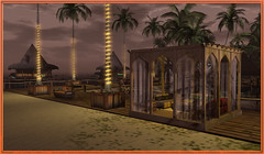 Essence Beach Club (azhatothy.wordpress.com) Tags: beach tropical tiki house rental secondlife naturist bugalow club night sand paradise party dj pool