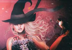 Are you afraid? (zuzuna336) Tags: tableauvivant gacha new witch cureless scary maitreya catwa catya bento pose model photo scondlife avatar mesh wind photography blogpost thearcade cerberus