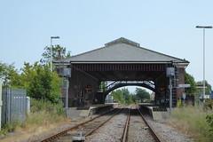 Filey's impressive railway station (Bods) Tags: yorkshirewoldsway walk railwaystation fileyrailwaystation filey railway northyorkshire yorkshirewoldswayday5 gantontofileywalk