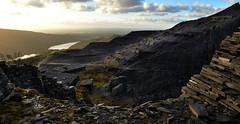 Miranda's view (PentlandPirate of the North) Tags: dinorwic snowdonia dinorwig gwynedd slatequarry northwales