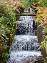 Lower Cascade, Blaen Bran Reservoir, Upper Cwmbran 15 October 2018 (Cold War Warrior) Tags: cascade water reservoir cwmbran blaenbran