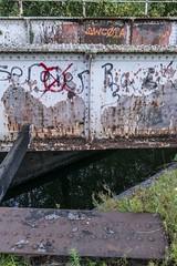 No Ogre here (d0mokun) Tags: blackcountry railway southstaffsline abandoned autumn bridge canal graffiti sunset urbandecay urbanexploration urbanlandscape urbex westmidlands tipton england unitedkingdom gb