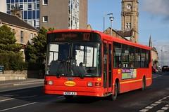 MacKenzie Bus Service (Coakley's) of Bellshill V209 JLG (9) | Route 107 | Hamilton Rd, Motherwell (Strathclyder) Tags: mackenzie bus service mackenziebusservice dennis dart slf marshall capital v209 jlg v209jlg 9 hamilton road motherwell north lanarkshire scotland coakleys warringtontransport