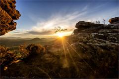 """Somewhere in Time"" (Peter Daum 69) Tags: somewhereintime licht light sonne sun landscape landschaft scenery sonnenuntergang sunset color farbe canon eos photoart sunrise sonnenaufgang fels rock moods magie magic stimmung dream rays strahlen wald berge mountain natur nature aussicht harmonie"