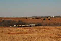 Farmrail Frogeyes (matthewspika) Tags: t oklahoma freight farmrail
