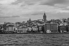 Galata Tower / istanbul (Sarhang G.Hariri) Tags: turkye turkey turkish tower galata galatakulesi galatatower blackwhite istanbul