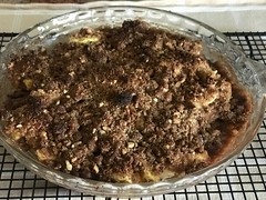 259 how about we start with dessert? (Robin Penrose - Canadian eh?) Tags: apple crisp lowcarb keto tornadowatch winds friday project365 365the2018edition