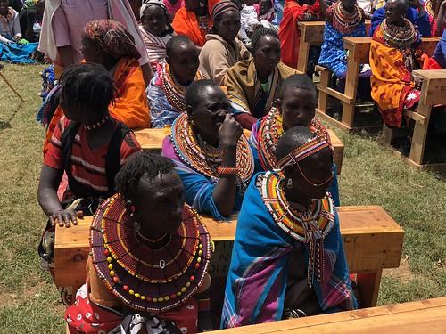 Pokot and Samburu women at the CPI Kenya meeting