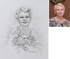 Portrait to order (Annabelle Danchee) Tags: paper graphitepencil graphite pencil face people creative art beautiful danchee annabelle portrait graphic graphics drawing draw woman