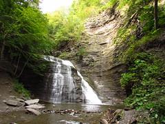 Grimes Glen Second Falls, New York (Chris Sanfino) Tags: ny waterfalls