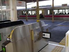 The gate (しまむー) Tags: panasonic lumix dmcgx1 gx1 sigma art 19mm f28 dn round trip train