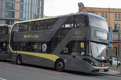Blackpool Transport SN67WZU (Mike McNiven) Tags: blackpool transport blackpooltransport manchester victoria wigan wallgate alexanderdennis enviro400 city railreplacement