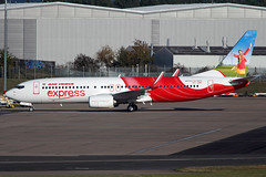 IMG_4582a 1200 (Tristar images) Tags: vtghi b737800 air india express delivery flight bhx