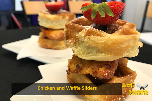 """Chicken and Waffle Sliders • <a style=""""font-size:0.8em;"""" href=""""http://www.flickr.com/photos/159796538@N03/44945864834/"""" target=""""_blank"""">View on Flickr</a>"""