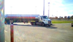 Gas transport truck - HTT (Maenette1) Tags: gas transport truck gasststion mobil highwayus41 menominee uppermichigan happytruckthursday flicker365 allthingsmichigan absolutemichigan projectmichigan