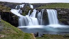 Kirkjufellsfoss waterfall (einisson) Tags: kirkjufellsfoss water waterfall grundarfjörður snæfellsnes outdoor landscape nature iceland einisson canon70d