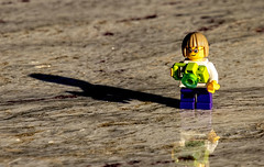 2018-10-03 Casting a long shadow (Mary Wardell) Tags: shadow small toy lego minifig justforfun canon80d