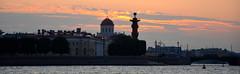 Soirée sur la Néva (RarOiseau) Tags: russie saintpétersbourg couchant fleuve lanéva ville