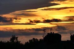 Autumn sunset (Baz2016) Tags: glowing warming stunning natural wildnature fire dusk skyline autumn orange redsky sunset