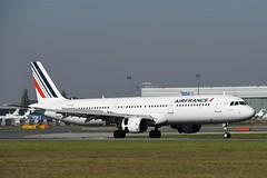 LOWW - Vienna (VIE) - Air France - Airbus A321-212 F-GTAZ - Flight AF1738 from Paris (CDG)