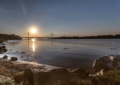 Pont de l'iroise (Brittany-France) (Discover_Brittany) Tags: bridge sunset bzh brittany bretagne 29 pont de liroise travel westcoast