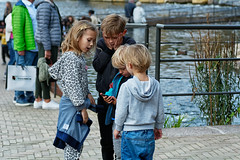 Oh My God... (Alfred Grupstra) Tags: child people boys outdoors caucasianethnicity happiness togetherness lifestyles cute girls childhood smiling walking family cheerful fun small friendship street summer