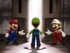 Luigi Walk into the Light (Jezbags) Tags: luigi walk light dead rip mario superhero firemario fire door nintendo death canon canon80d 80d 100mm closeup uo macro macrophotography macrodreams shfiguarts bandai actionfigure