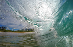 under the lip (bluewavechris) Tags: maui hawaii ocean water sea swell surf wave barrel tube fun playtime hilife makena oneloa