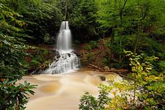 Little Stony Creek: Side waterfall (Shahid Durrani) Tags: little stony creek cascades pembroke virginia hurricane michael