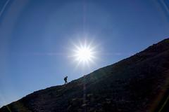 Body And Soul (CoolMcFlash) Tags: person silhouette sky sun sunlight sunny sunflare rays blue hiking adventure fujifilm xt2 schneeberg mountain contrast loweraustria austria walking kontur himmel sonne weather sonnenlicht sonnig sonnenstrahlen blau wandern berg gebirge landscape landschaft nature natur fotografie photography wetter xf18135mmf3556r lm ois wr hill