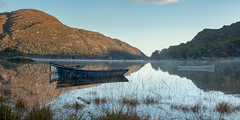 Morning Mist on the Upper Lake of Killarney (Phillip Kerins) Tags: forest ireland kerry killarney killarneynationalpark upper lake the jersey tir na nog sunrise mist mountains