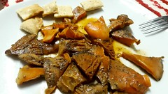 Níscalos con  regañás ... casi ná. (VV - dí.) Tags: níscalos setas regañás otoño2018 octubre sierradesegura seguradelasierra mushrooms lactariusdeliciosus recetas