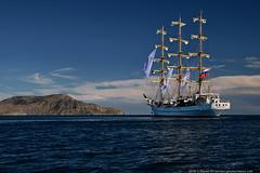 DSC_7548 (yuhansson) Tags: фрегат херсонес море чёрное парусник крым паруса парус корабли корабль путешествие путешествия югансон юрий boat sea sky water vessel ship sailing новыйсвет судак