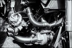 Turbo power (G. Postlethwaite esq.) Tags: bw dof derbyshire heage sonya7mkii beyondbokeh blackandwhite bokeh classicbikes depthoffield fullframe mirrorless monochrome motorbikes photoborder selectivefocus windmill
