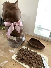 Chocolate Easter Bunny (DolceDanielle) Tags: chocolat easter bunny