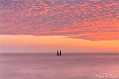 A Pink Dream! (karindebruin) Tags: nederland thenetherlands westkapelle zeeland zonsondergang sunset water clouds wolken noordzee northsea