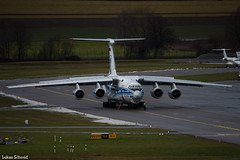 Volga-Dnepr Airlines / Ilyushin Il-76 / RA-76950 (schmidli123) Tags: zurichairport zrh zrhairport ra76950 volgadnepr volgadneprairlines il76 ilyushin ilyushin76 freighter cargo