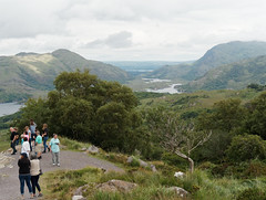 A Different Perspective (Rev.Gregory) Tags: trafalgar simplytrafalgar group tour view ladiesview upperlake lake mountain hill tree trees valley killarney national park cloudy grass vista overlook scenic