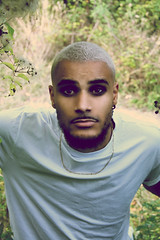 (S.t.m_photos) Tags: portrait men man eye eyes wood earth green wild nikon france bordeaux model modelo modelmen shoot shooting