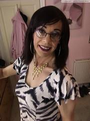 August 2018 (Girly Emily) Tags: crossdresser cd tv tvchix tranny trans transvestite transsexual tgirl tgirls convincing feminine girly cute pretty sexy transgender boytogirl mtf maletofemale xdresser gurl glasses dress indoor