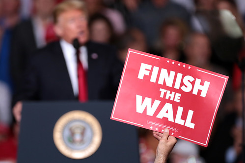 Get used to it.  .Build the wall. signs will be found only on junk heaps.