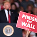 Finish the Wall sign