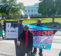 2018.10.22 We Won't Be Erased - Rally for Trans Rights, Washington, DC USA 06861