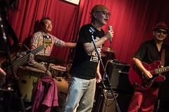 Terraplane Band with gorgeous dancers, Tokyo, 21 Oct 2018 -00010 (megumi_manzaki) Tags: musician band blues rock live japan guitarist dancer