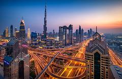 Burj Khalifa (davecurry8) Tags: dubai uae burjkhalifa sunset bluehour