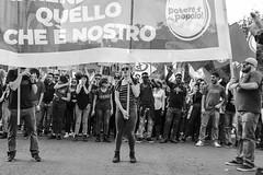 Manifestazione Nazionale (Claudia Celli Simi) Tags: manifestazione roma nazionalizzare 2018 ottobre usb poterealpopolo sindacati sfruttati bw bn biancoenero blackandwhite contrasto monocromo