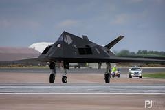 USAF F-117A Nighthawk 80-0787 (philrdjones) Tags: 2004 black c570uz egva f117 f117a ffd fairford july nighthawk olympus raf riat riat2004 royalinternationalairtattoo stealth stealthfighter usaf unitedstatesairforce