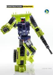 TW_Shovel_bot (Weirdwolf1975) Tags: tfylp transformers podcast toyworld xtransbots xtb crackup flipout breakdown wildrider shovel bulldozer crane bonecrusher hook scrapper